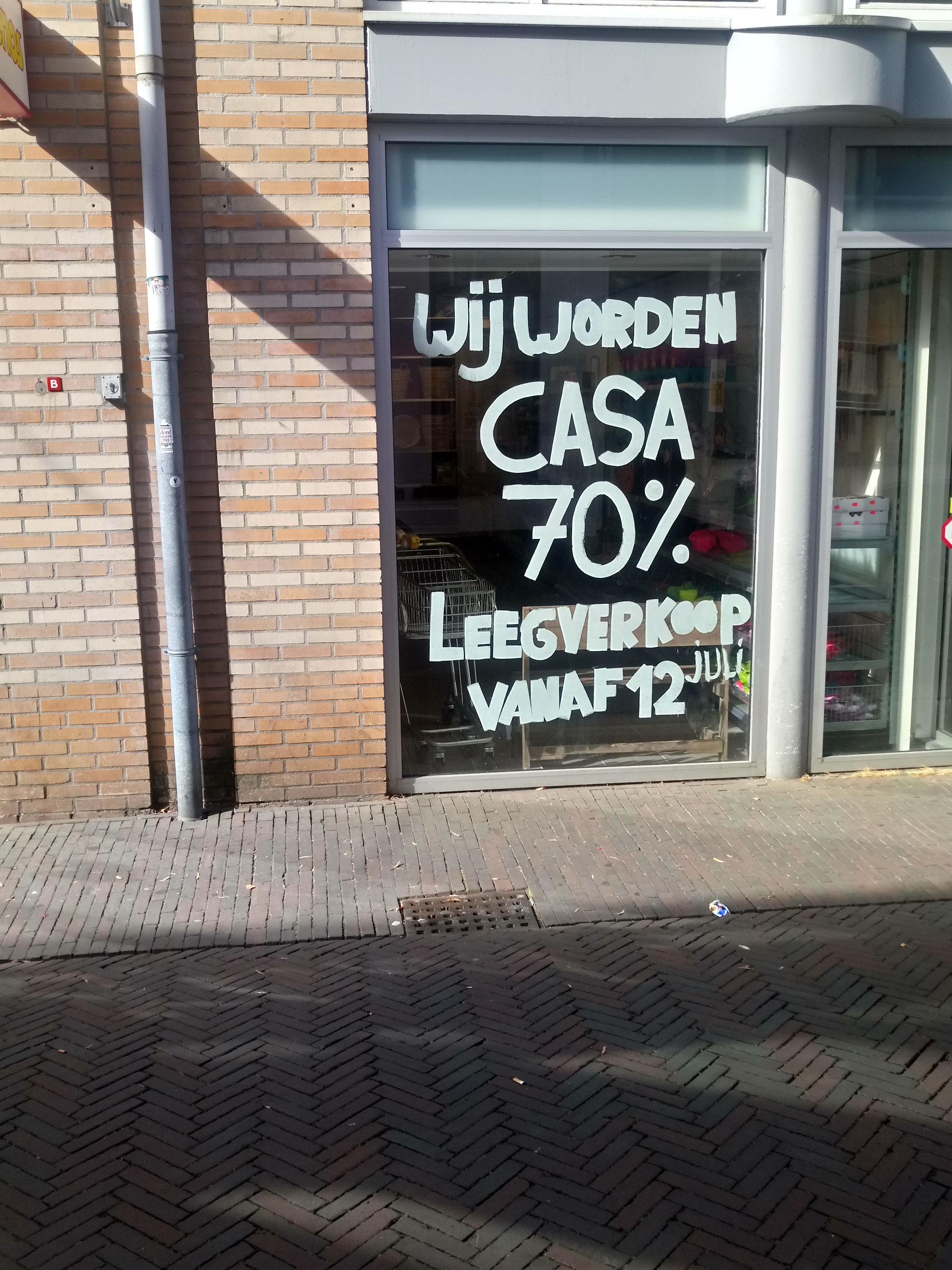 70% korting op ALLES xenos Deventer