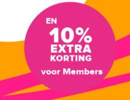 10% extra korting op sale tot -70% (voor members - gratis aanmelden!) @ Hudson's Bay