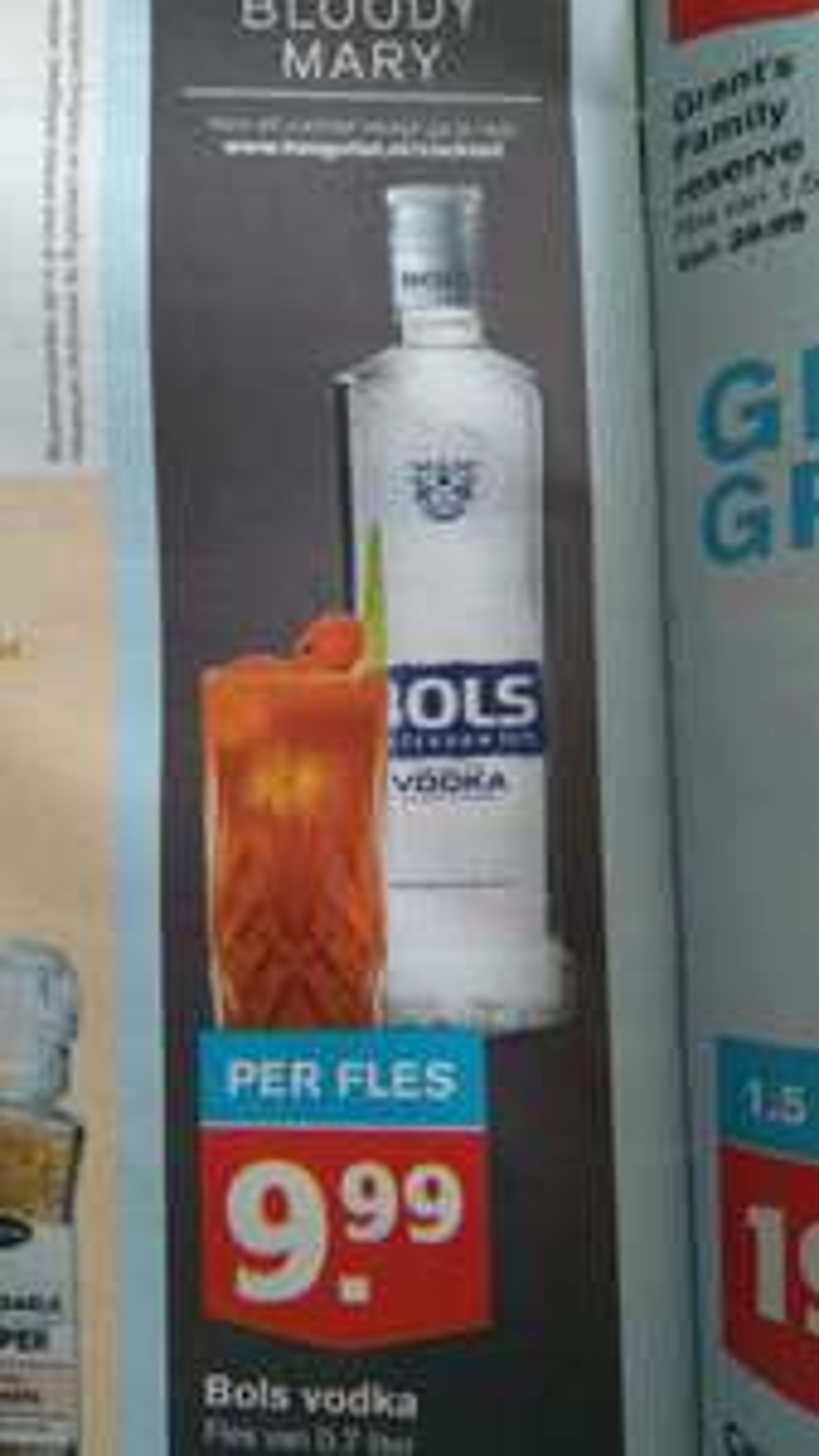 Bols Vodka 70cl bij Hoogvliet