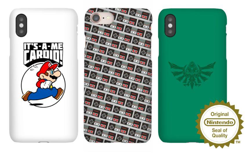 Alle officiële Nintendo telefoon hoesjes - €10,99 @Zavvi