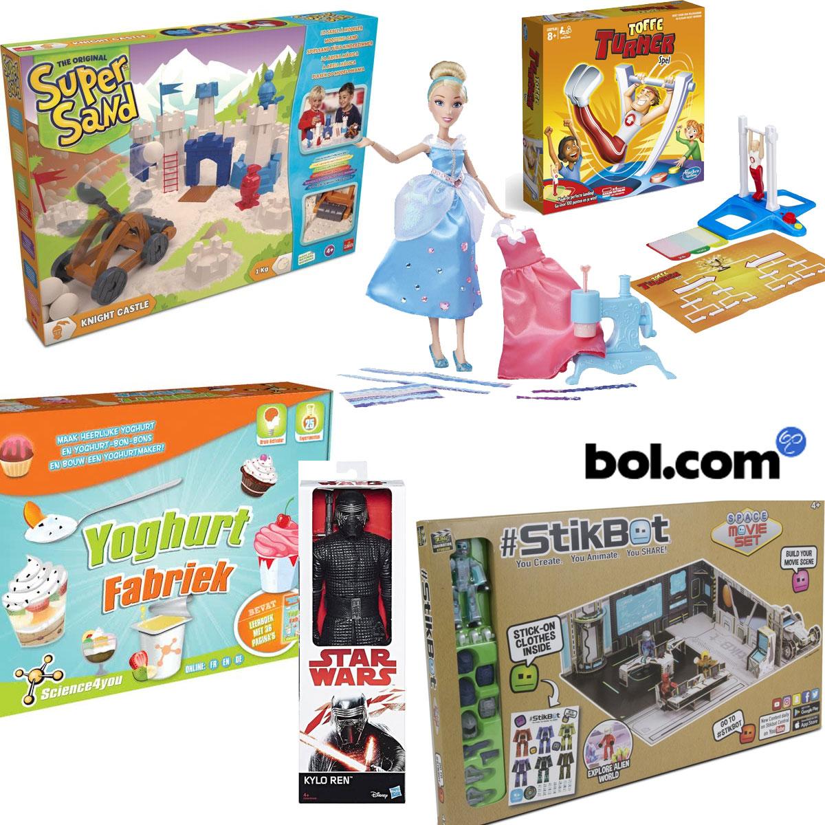 Veel speelgoed met hoge korting - veel goedkoper dan elders @ Bol.com