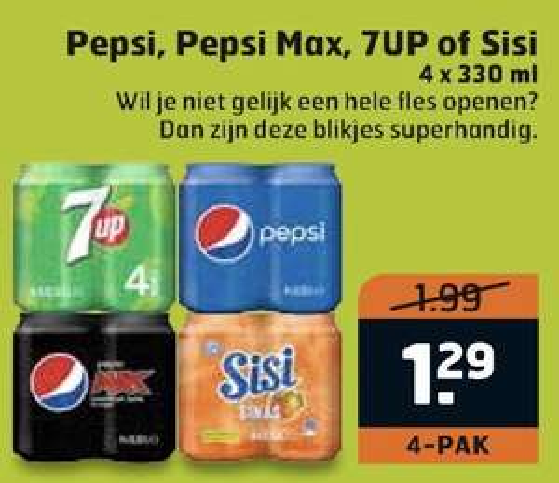 Pepsi, 7up, sisi