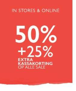 Alle sale 25% extra korting @ Claudia Sträter
