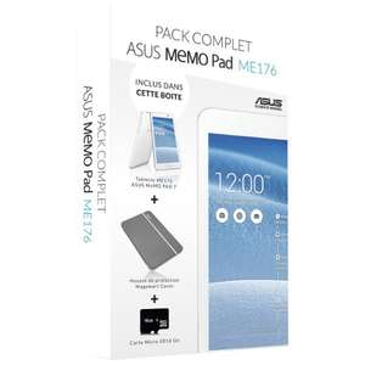 Asus MemoPad 7 ME176CX + Hoes en 16GB microSD kaart voor €105,69 @ Amazon.fr