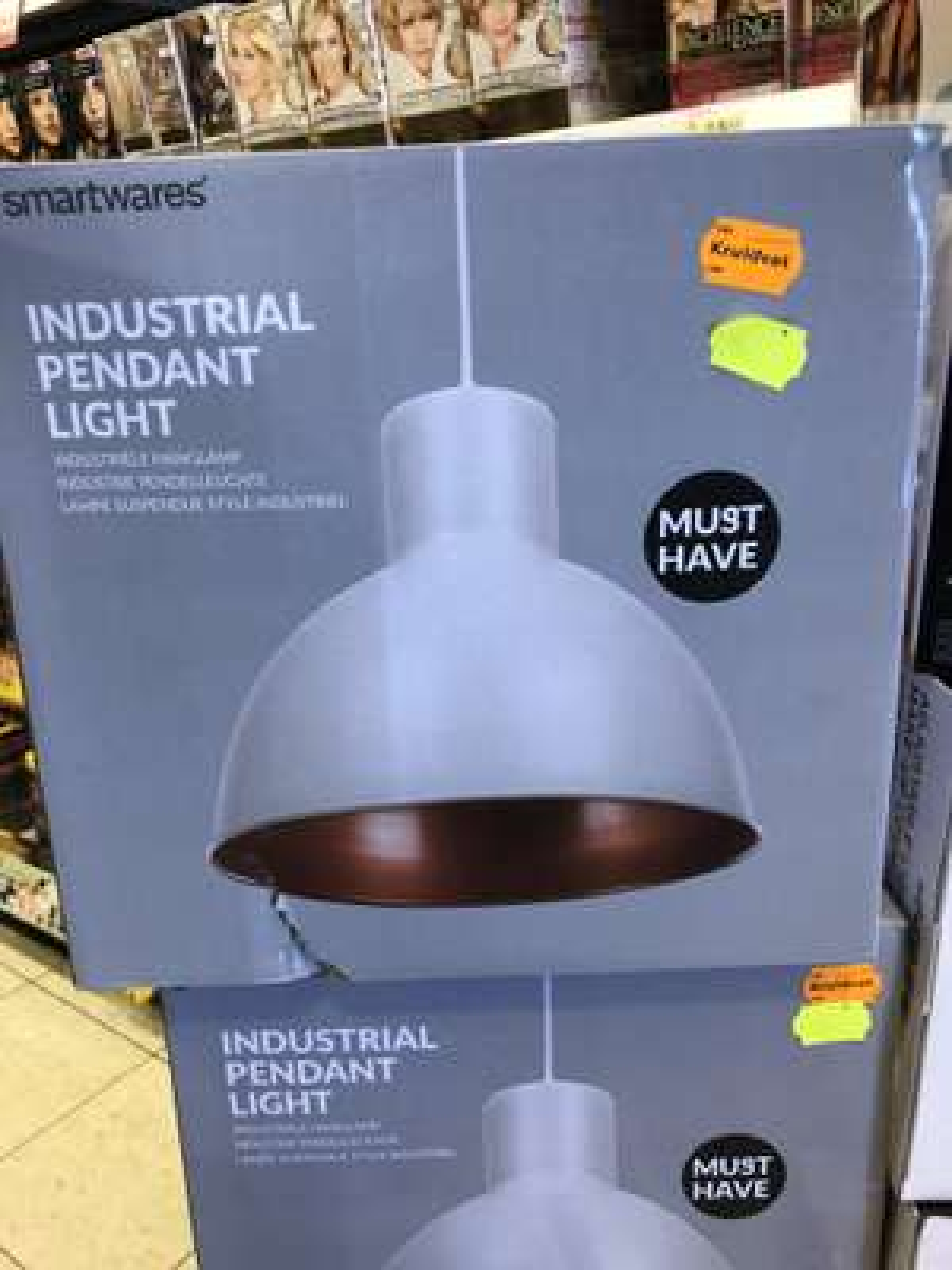Industriele hanglamp diameter 30cm @ Kruidvat & Trekpleister