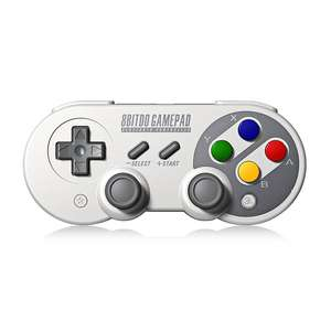 8Bitdo SF30 Pro Wireless Bluetooth Controller voor €29.99 @Aliexpress