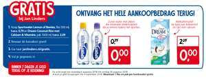 Gratis Sportwater en Dream Coconut Rice bij Jan Linders