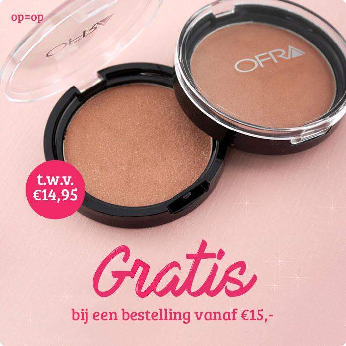 Gratis Ofra bronzing powder t.w.v. €14,95 bij besteding vanaf €15 @ Boozyshop