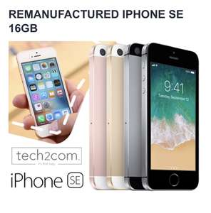iPhone SE 16GB remanufactured