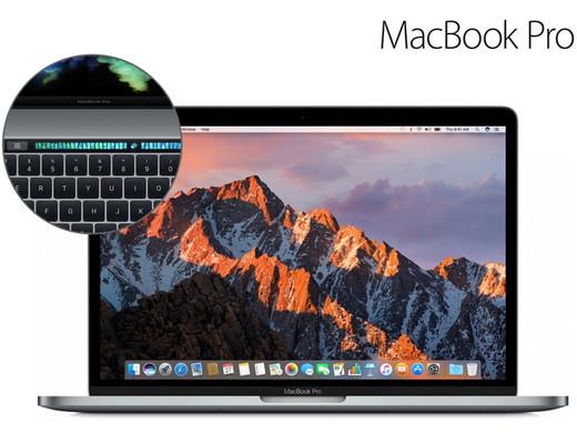 Macbook pro late 2016 met touchbar i7, 16 GB Ram & 256 GB SSD