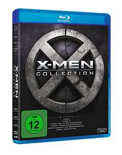 X-Men Boxset deel 1-6 Blu-Ray @Amazon.de