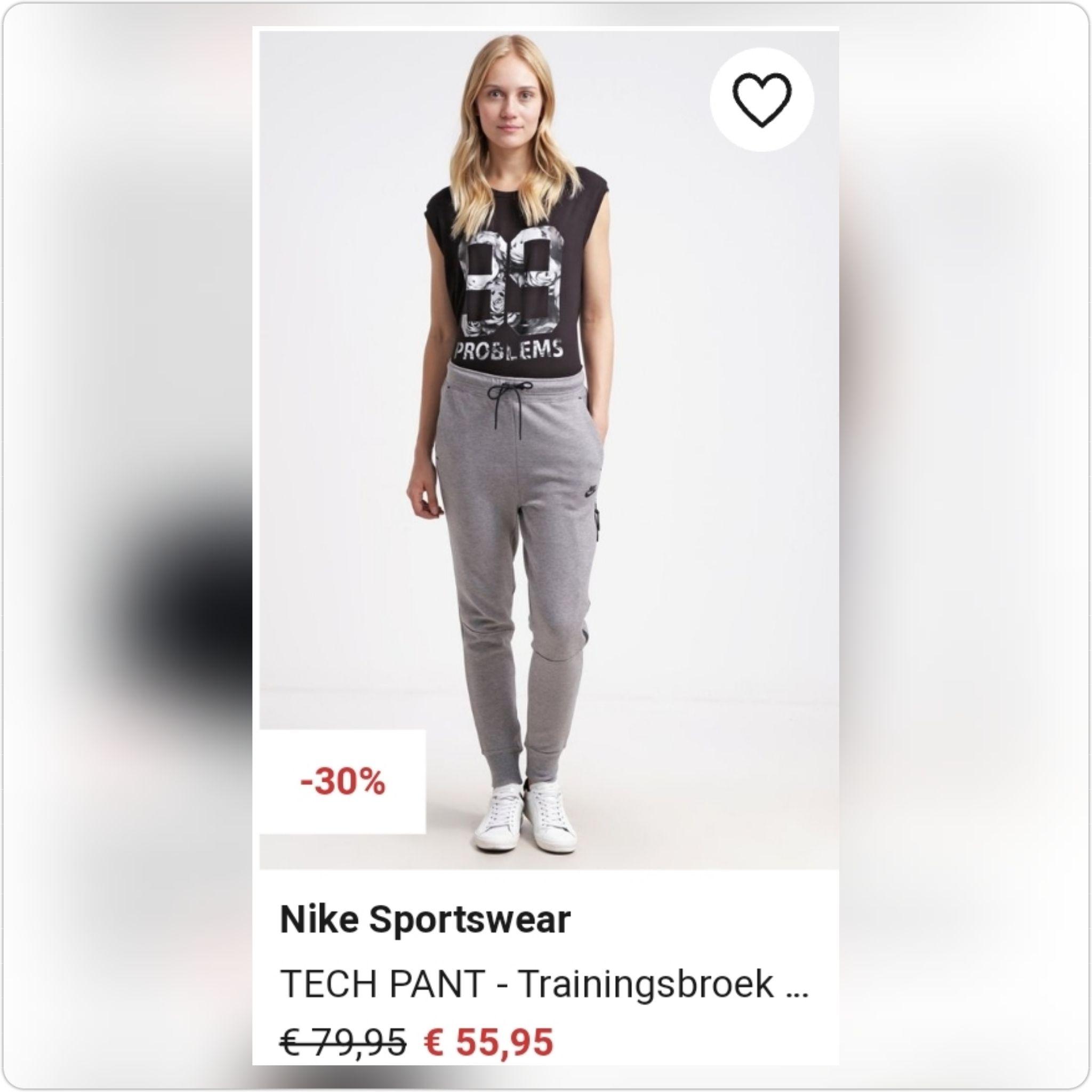 Nike Sportswear  TECH PANT - Trainingsbroek  @ Zalando
