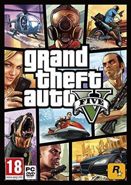 Grand Theft Auto V (PC) @CDkeys