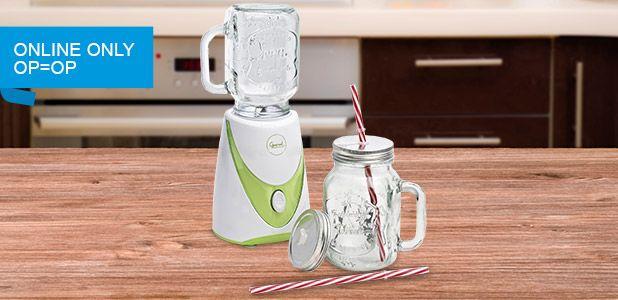 Gratis smoothie blender bij bestelling vanaf 99 euro (ex) bij Staples