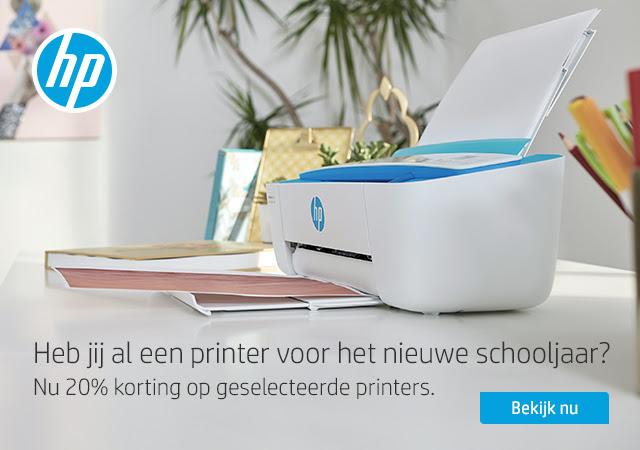 20% korting op geselecteerde printers @ HP Store