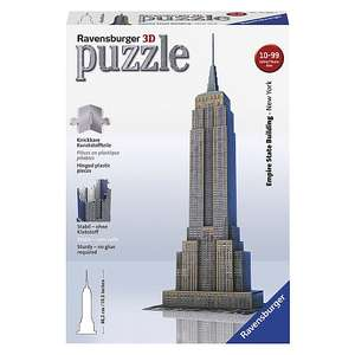 Ravensburger Empire State Building 3D puzzel - 216 stukjes  voor €11,95 @ Toys'R'Us