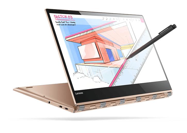 Code voor 15% korting op Lenovo Yoga 920 13 @ Lenovo
