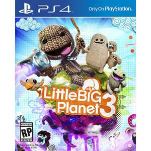 Little Big Planet 3 (PS4) (Download Code) voor €17,80 @ BoxedDeal
