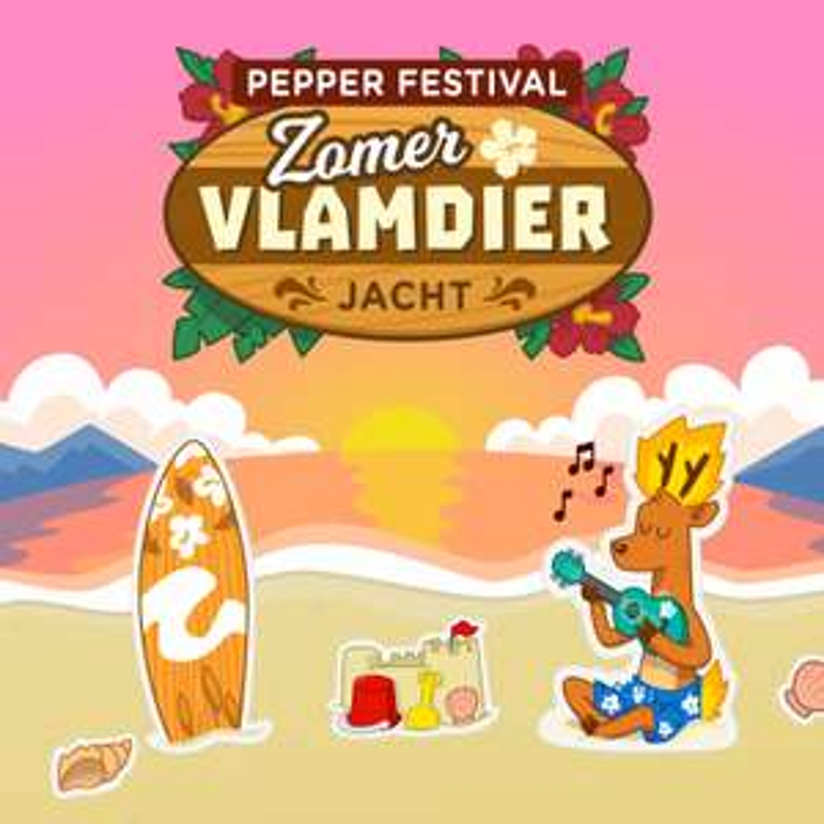 Pepper Festival - Zomer Vlamdier Jacht
