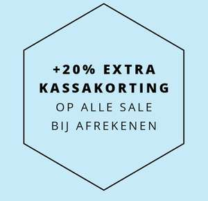 Actie: 20% EXTRA korting op sale @ Van Dalen