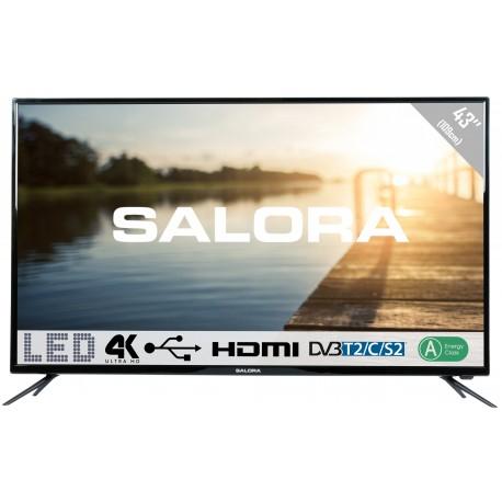 "Salora 43UHL2600 43"" 4K tv voor €299 @ Directsale"