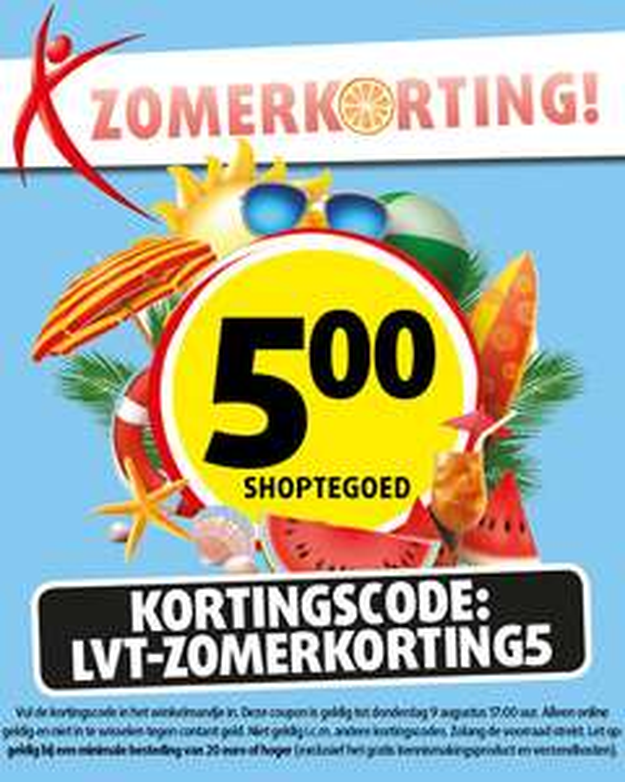 Lucovitaal 5 euro korting (vanaf 20 euro bestelwaarde)