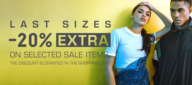 SNIPES 20% EXTRA korting op geselecteerde saleproducten