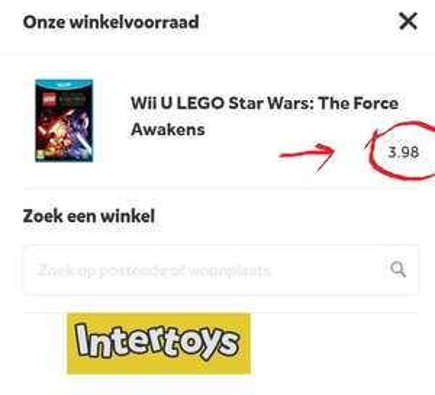 Wii U LEGO Star Wars: The Force Awakens