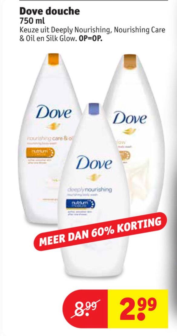 Kruidvat: Meer dan 60% korting op Dove