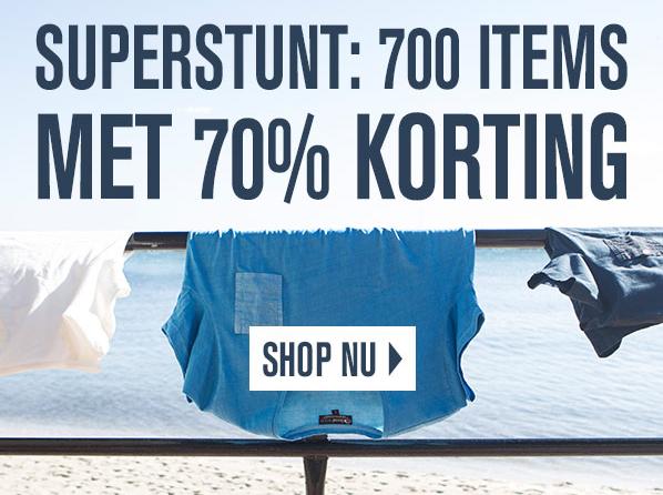 Super Stunt: 700 artikelen met 70% korting @ Vimodos