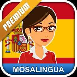 Gratis in de Play Store: MosaLingua Spanish Premium