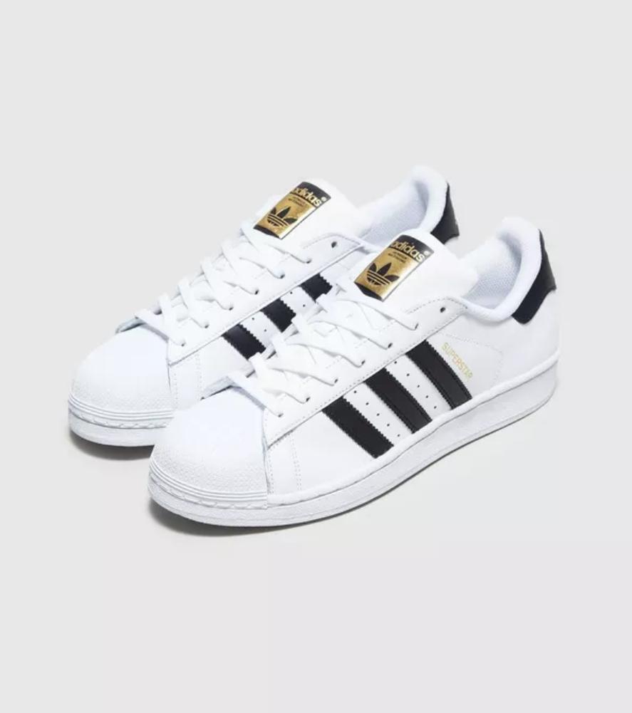 adidas Originals Superstar (maat 44) voor €25 @ Size?