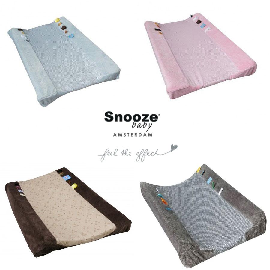 Aankleedkussenhoezen Snoozebaby €7,50 - €9,99 @ Babysupershop