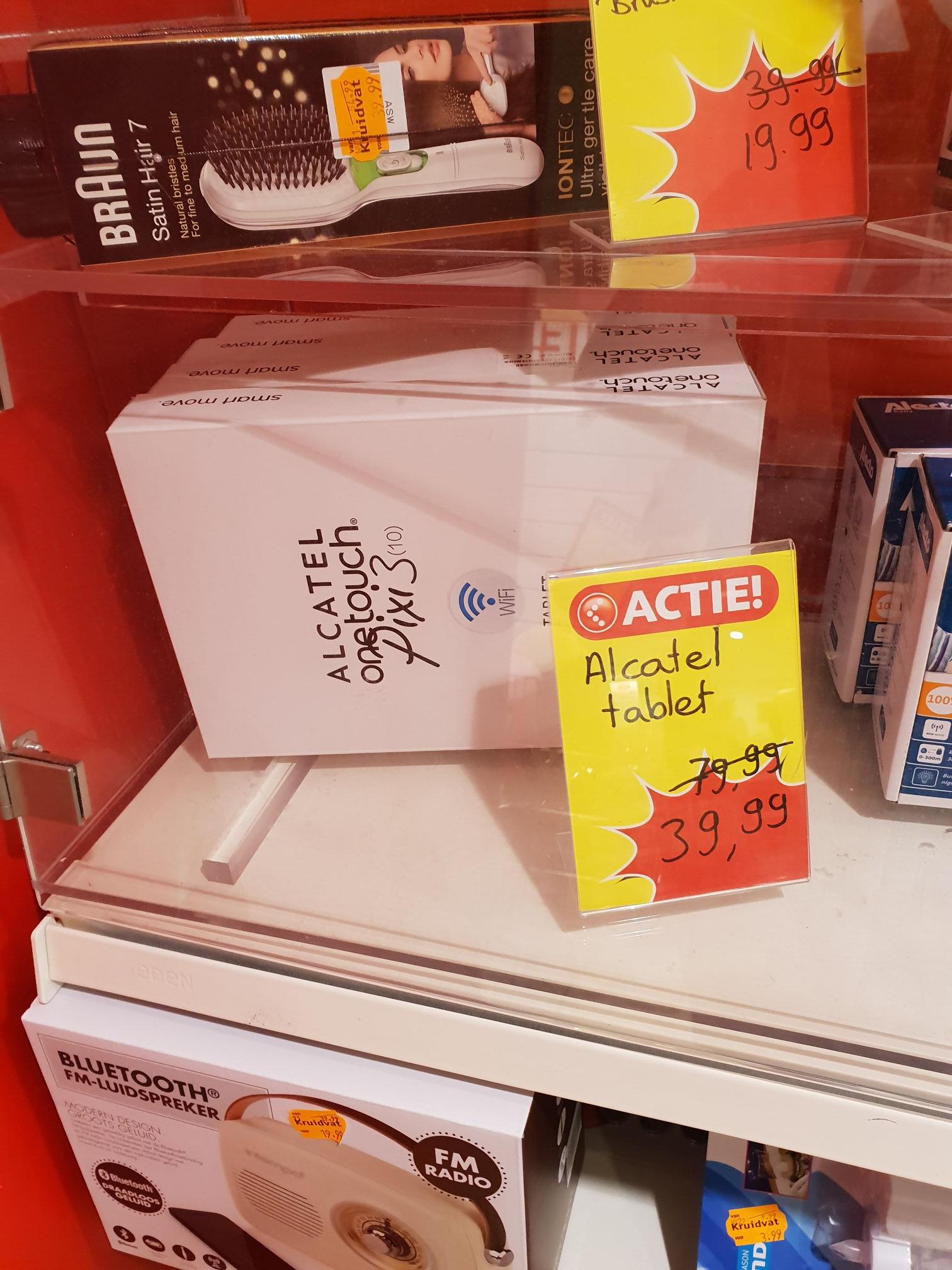 Alcatel Pixi 3. 10inch van €80 voor €40