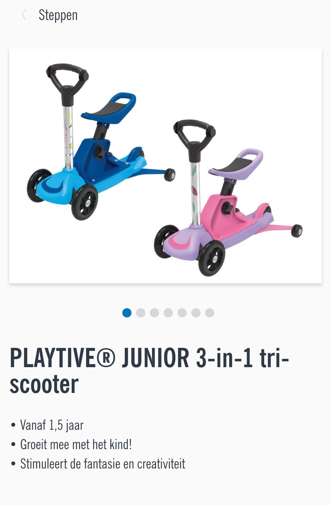 3in1 tri scooter! Lidl aanbieding