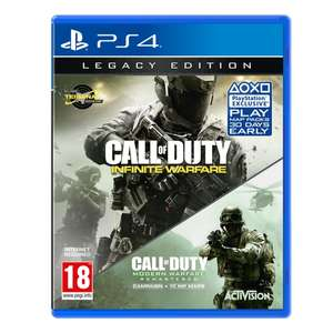 COD: Infinite Warfare Legacy Edition (inclusief MW Remastered) PS4/XB1 voor € 12,99 @ Shop4NL