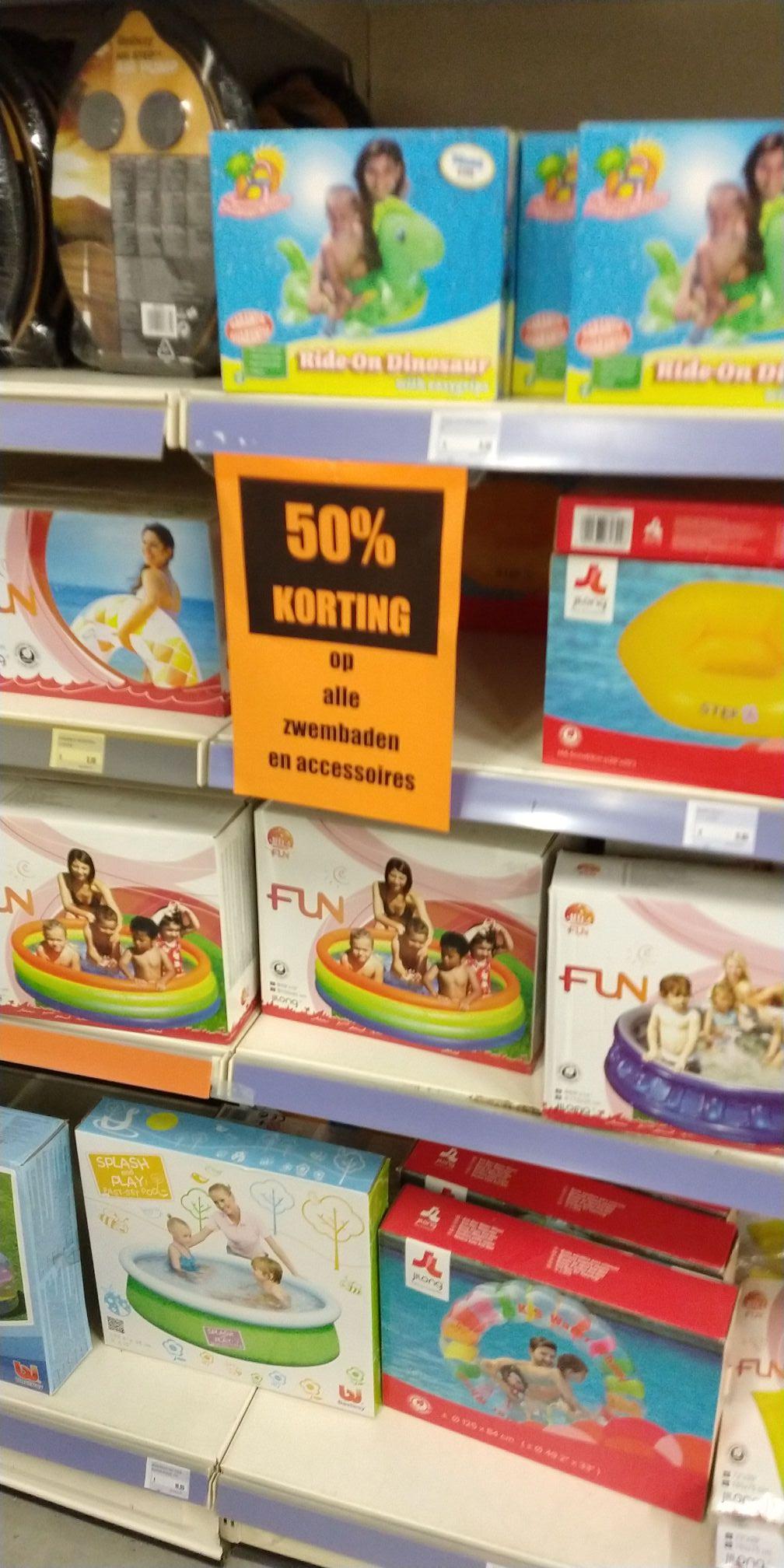 50% korting op alle zwembaden en accessoires bij Formido Leeuwarden