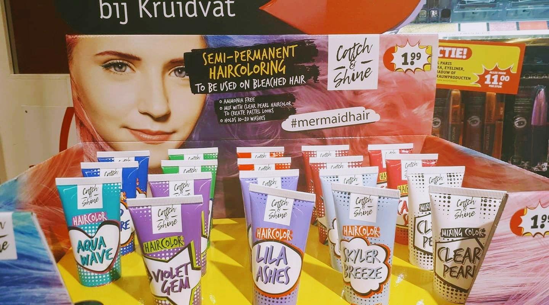 Catch and shine haircolor (Kruidvat)