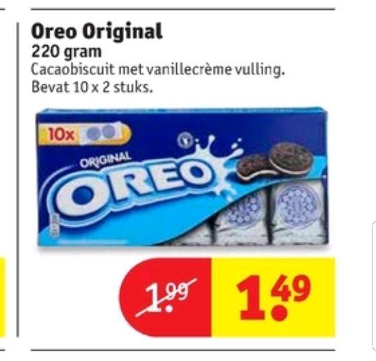 @Kruidvat, Oreo original €1.49