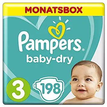 Pampers baby dry 3 maandbox