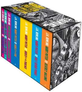 Harry Potter box set paperback deel 1 tm 7 Engels