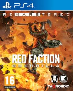 Red Faction Guerilla Re-mars-tered Edition PS4/XB1/PC €21,99 @ Zavvi