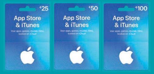 GRATIS 15% extra tegoed op App store en Itunes cadeaukaarten @ Albert Heijn