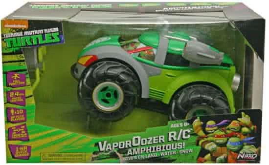 Nikko Teenage Mutant Ninja Turtle Vaporizr - Bestuurbare Auto! Vaart ook!