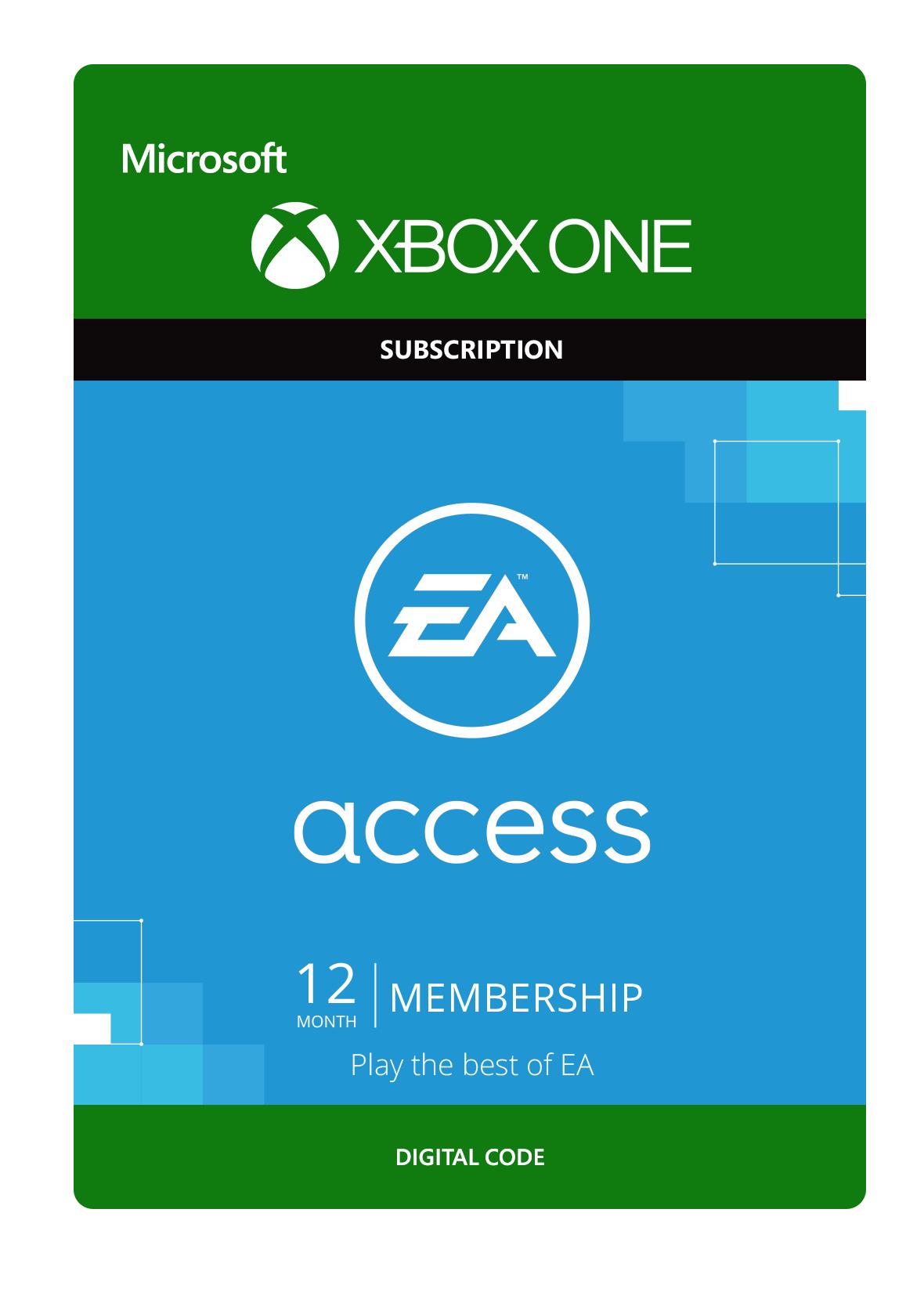 1 jaar EA Access voor €8,85 @ Xbox Turkije