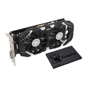 MSI NVIDIA GeForce GTX 1060 Graphics Card + Kingston 240GB SSD Bundle