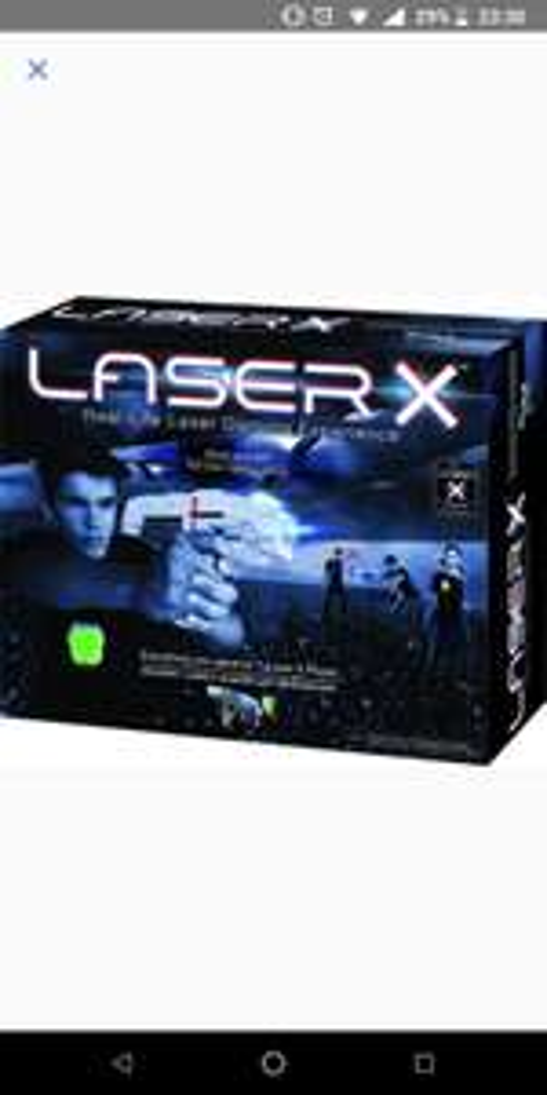 Laser X, lasergame voor thuis