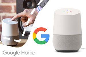 Google Home voor €129,95