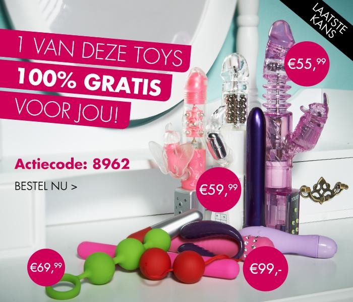Actiecode voor een gratis love toy (min. besteding €20) @ Pabo