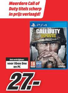 Call of Duty: WWII | voor Xbox One/ PS4/ PC €27